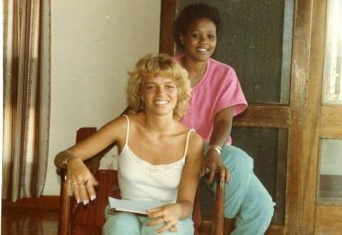 BT portrett: Hanne Nabintu Herland i Kenya, 1984