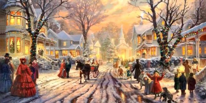 Christmas Jesus Christ Julens budskap, Herland Report
