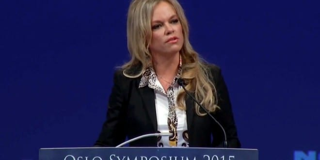 Hanne Nabintu Herland tale Oslo Symposium