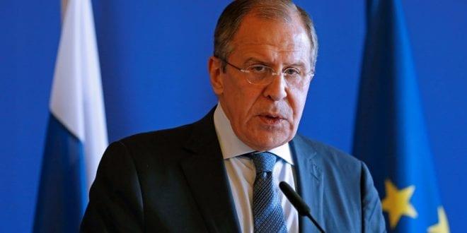 Intervju med Russlands utenriksminister, Sergei Lavrov, ITV
