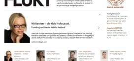 Deltar på Filosofifestivalen i Kragerø 2. juni, kl 19: Midtøsten, vår tids Holocaust