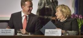 Clinton-Børge Brende-AP-photo