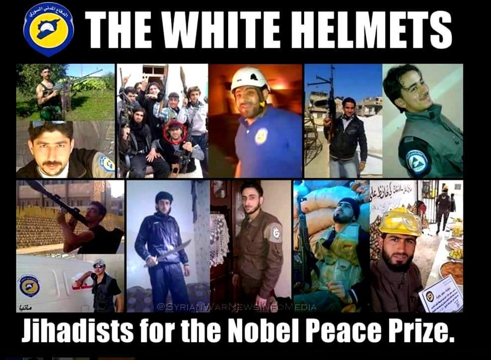 white helmets Nobel Helrand Report