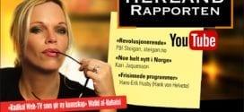 NOE HELT NYTT I NORGE – HERLAND RAPPORTEN WEB TV, kjemisk fri for politisk sensur