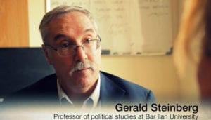 Gerald Steinberg in documentary Jerusalem, Hanne Herland
