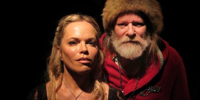 Vikingtidekspert Georg Olafr Reydarsson i TV serien Fryktløse Nordmenn, se bilder fra settet