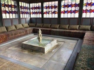 (Foto: Fra palasset til Khanen fra 1551 i Bakhchisaray, Krim)