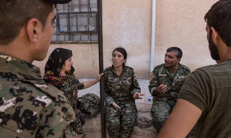 Barcroft Images, SDF in Raqqa, 2017.