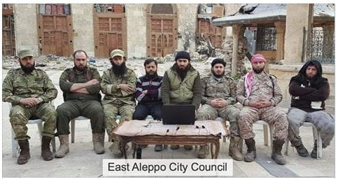 Norwegian Aid Industry Syria: East Aleppo CIty Council Eva Thomassen Herland Report Syria