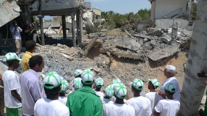 The killing of civilians was rampant in Libya 2011.