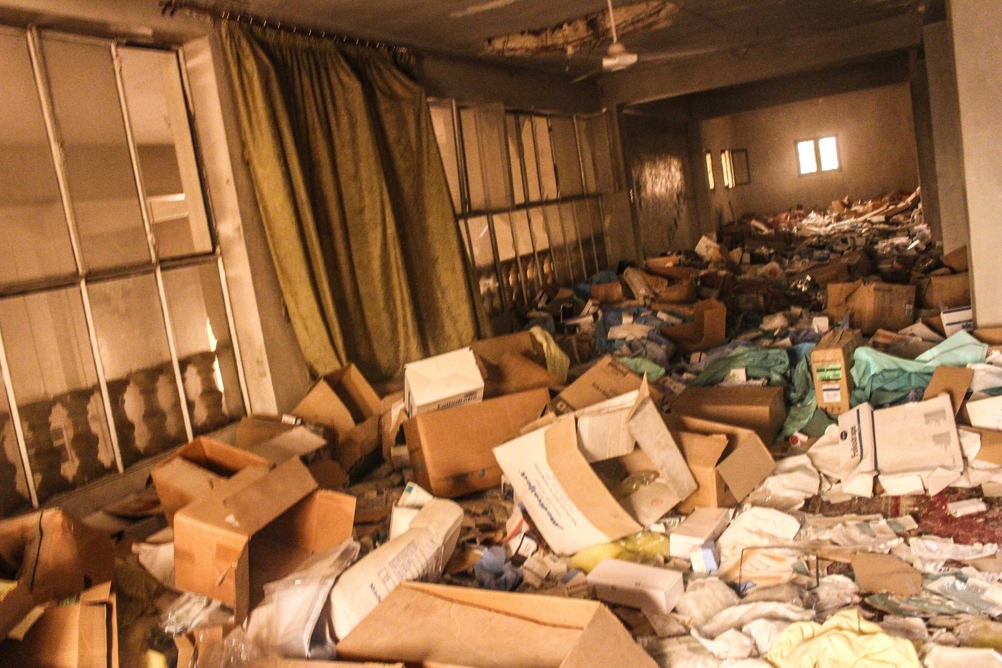 East Aleppo, at the al-Nusra Front al-Qaeda in Syria] headquarters