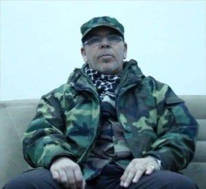Salah Badi, militia leader, Libya.