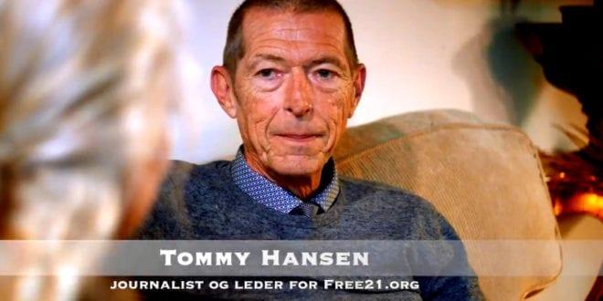Tommy Hansen, grunnlegger av free21.org, publiserer nær 200 journalisters arbeid: Intervju Herland Report
