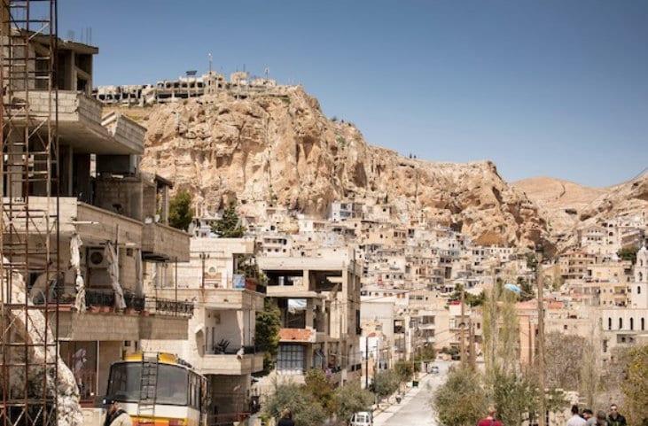 Kari Jaquesson om Syria reise: Maaloula.