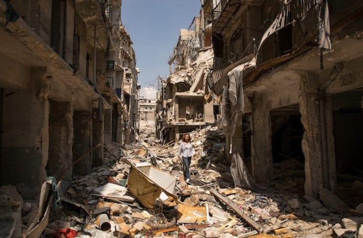 Kari Jaquesson om Syria reise: