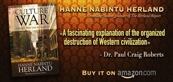 The Culture War book, Hanne Nabintu Herland Globalism Transferred US Economy To China, will China rule us?