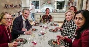 Jonas Gahr Støre Hillary Clinton Hadja Tajik Anniken Huitfeldt