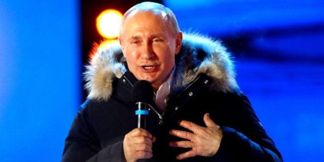 Russland omfavner Vladimir Putin, vant valget med 76.6 %, mer enn noen vestlig leder opplever -Bjørn D. Nistad