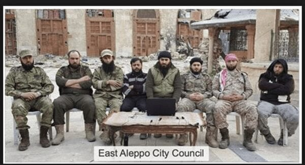 Western supported City Council of Aleppo, 2017 Norsk bistand til Syria:
