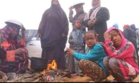Libyan Tawhargha refugee camp, 2018.