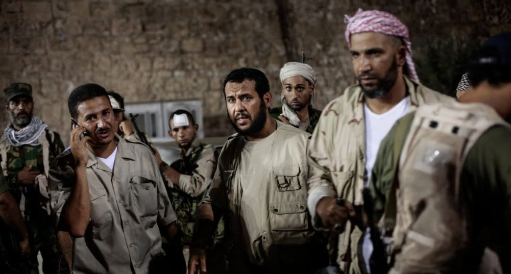 NATOS overgrep i Libya