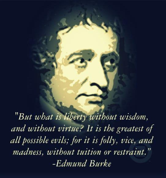 Edmund Burke Conservative Disdain for Revolutions
