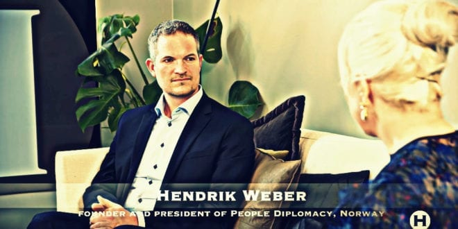 "TV interview with People Diplomacy Norway, record 90 000 views in few hours: ""We want peace in our time, not war"", Hendrik Weber"