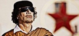 Libyakrigen basert på ren medieløgn Muammar Gaddafi Getty