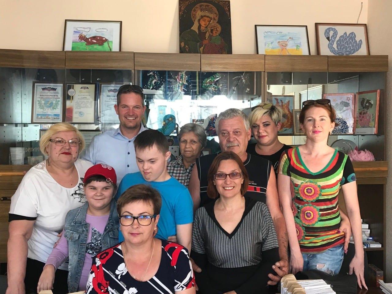 Folkediplomati Norge Hendrik Webers reise til Donetsk, Ukraina