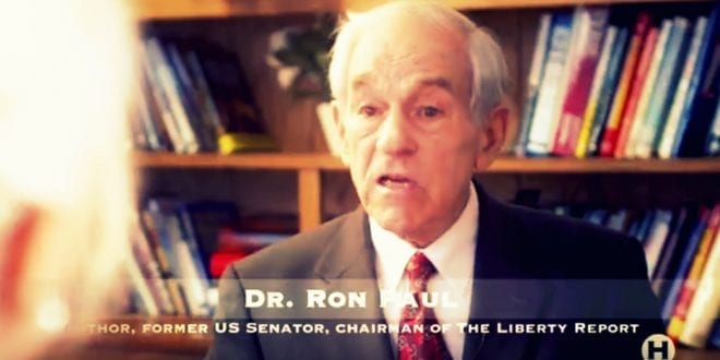 EXCLUSIVE interview with Dr. Ron Paul on Quenching Free Thinking and Liberty in America, Herland Report TV (2/4)