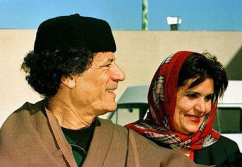 Muammar Gaddafi and Safia Farkash local Herland Report