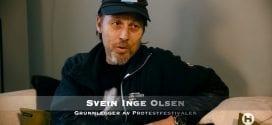 TV intervju med Svein Inge Olsen, Protestfestivalen i Kristiansand: