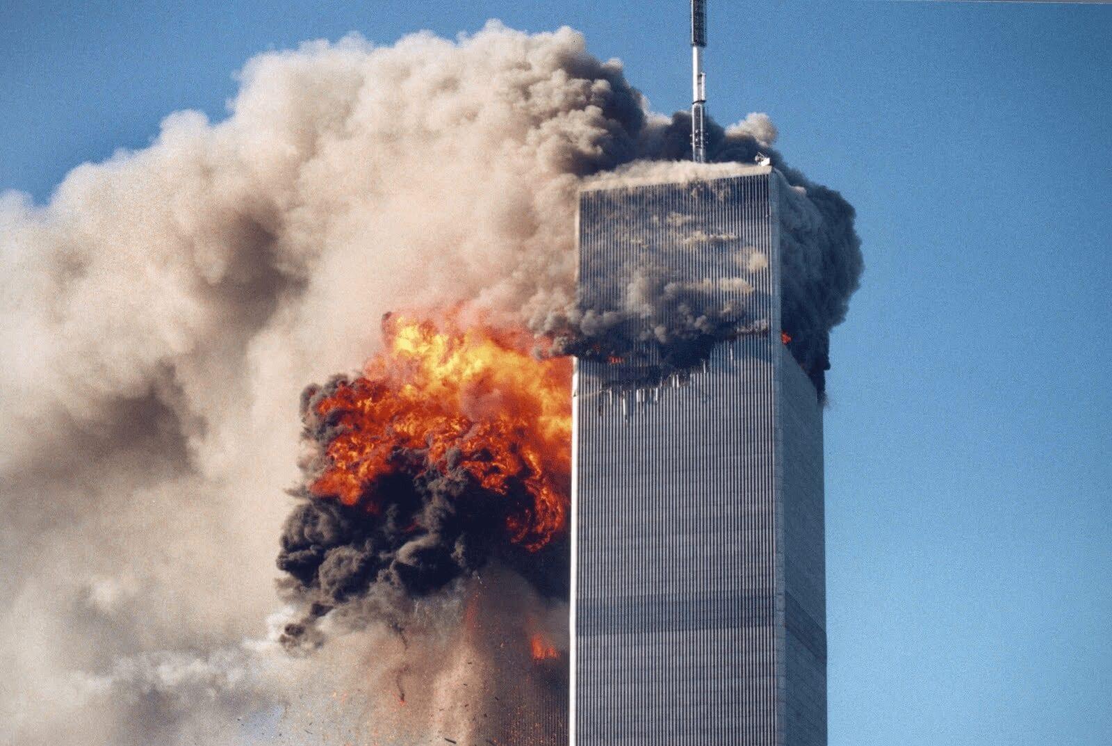 11. September, 2001 World Trade Center Attack AP