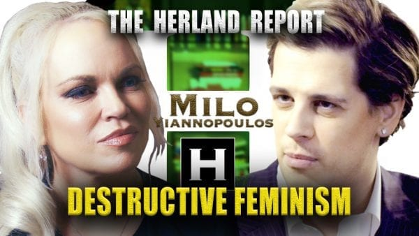 Milo Yiannopoulos: New Left Feminism destroyed self-esteem: