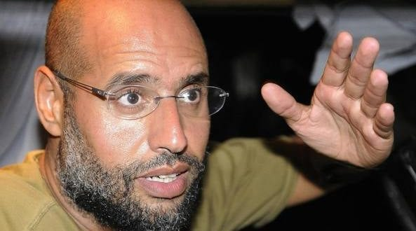 Saif al islam Gaddafi. Daily Mail