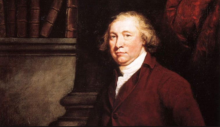 BBC Rule Britannia Herland Report Edmund Burke Conservative philosopher Edmund Burke: