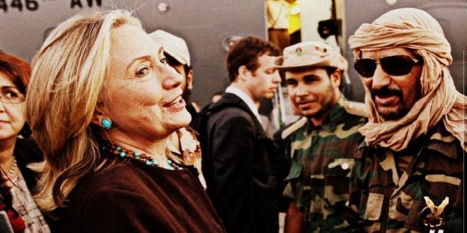 Libya Was Hillary's War. Here's The Proof, Joshua Yasmeh, Daily Wire