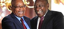 Racism in South Africa: South African ANC leader and President, Cyril Ramaphosa. AP.