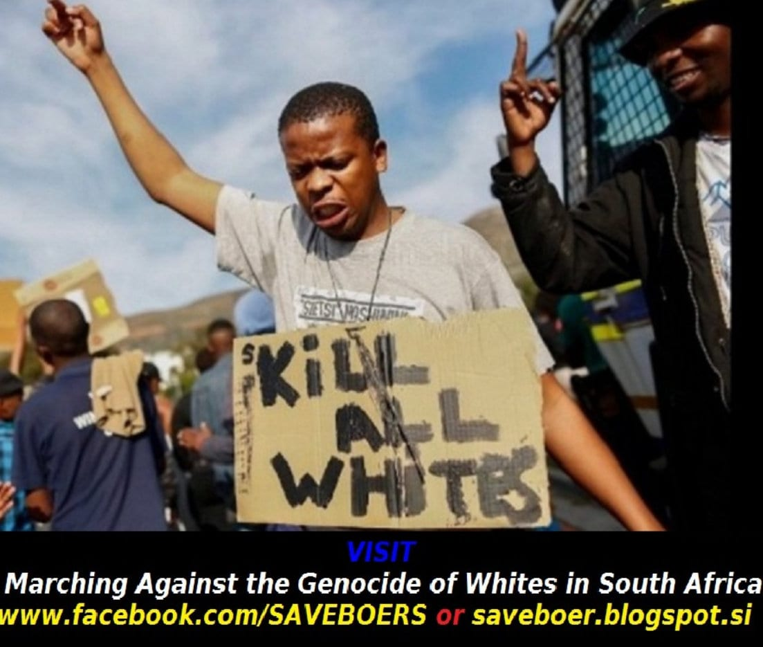 ANC Racist Violence Against White South Africans: