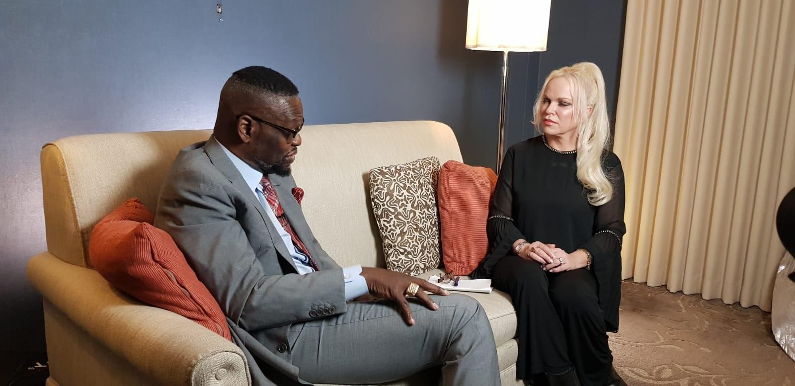 Bishop Harry Jackson and Hanne Nabintu Herland Washington DC, 2019