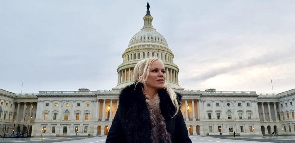 Internasjonalt gjennombrudd: Samtaler med senatorer, advokater, CIA, journalister - Hanne Nabintu Herland Report