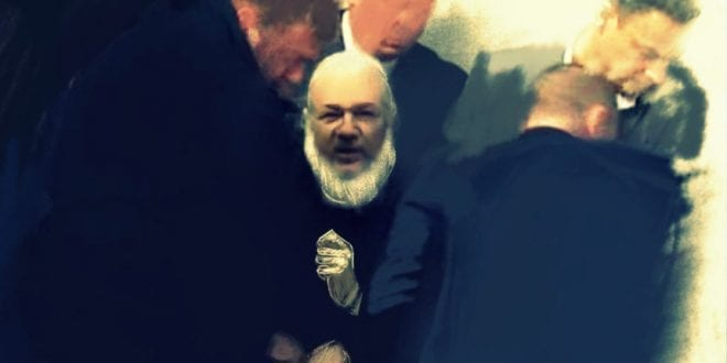 Julian Assange is arrested in London for his journalism, Catelyn Johnston, Herland Report