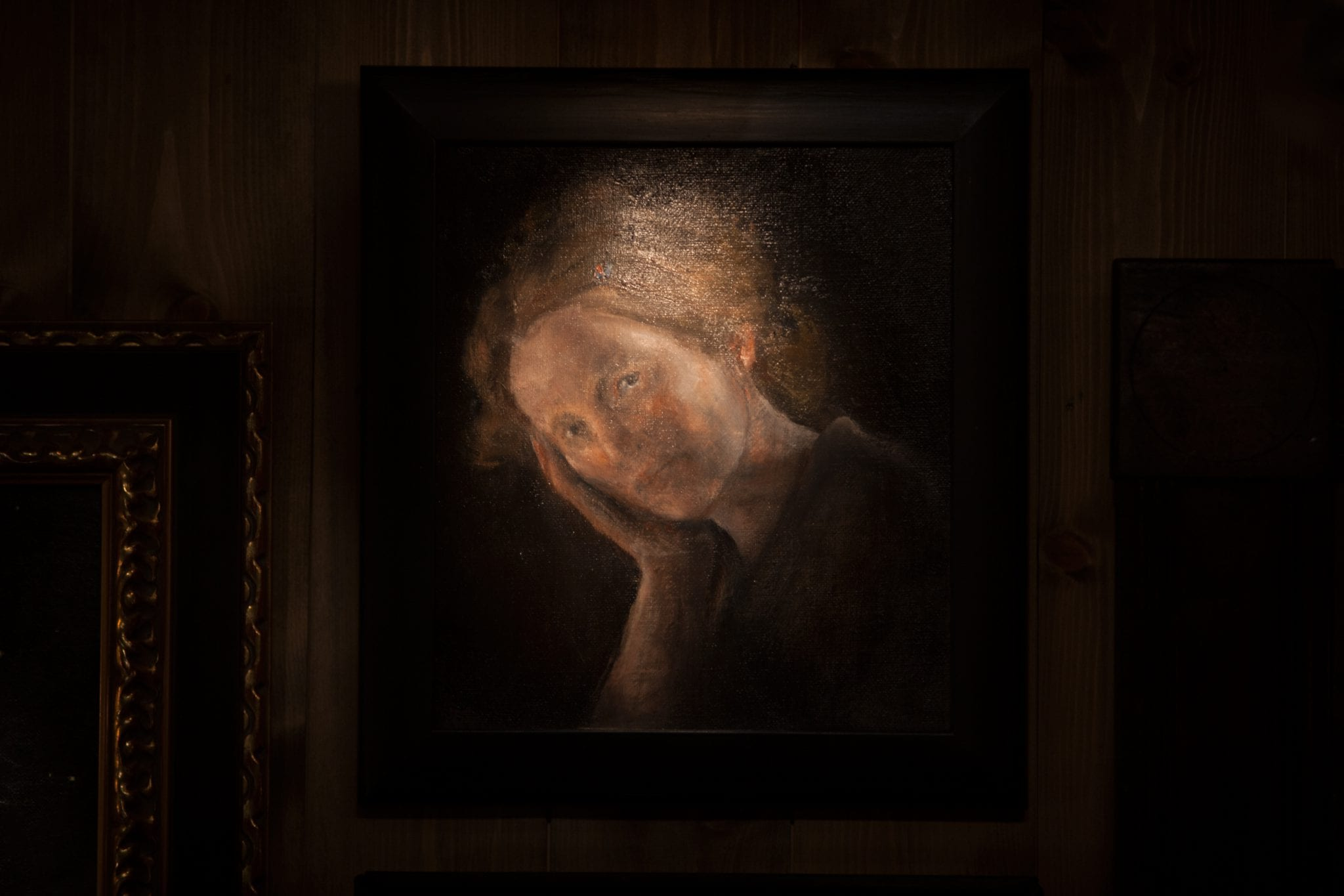 Turid Spildo, self-portrait.