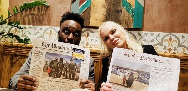 TV Interview: Racial awareness weakens America - Woodley Auguste
