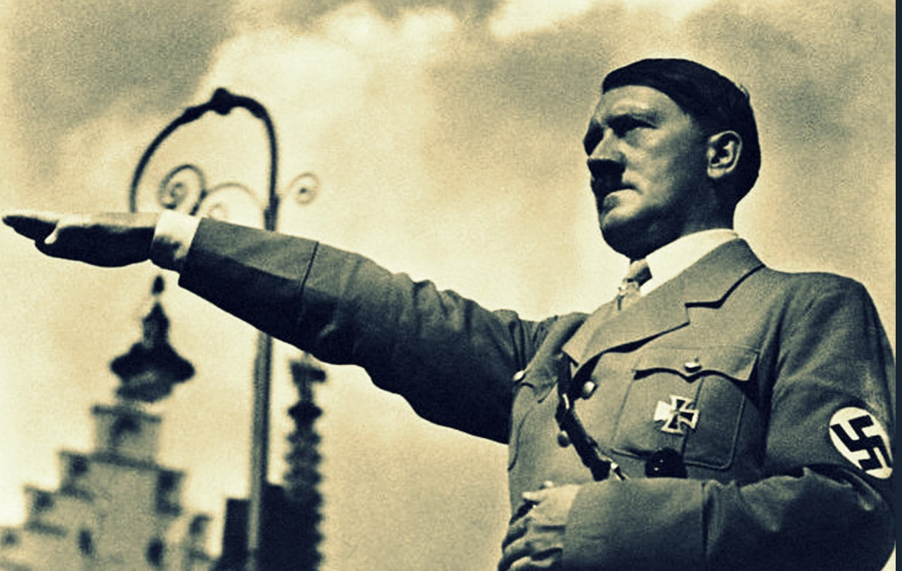 Speech from 1933 gives chilling reminder of Who rules Wars and the world , Hitler, Herland Report