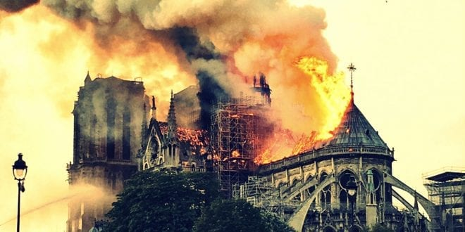 Notre Dame: Christianity desecrated in Europe, 1000 churches vandalized in France alone 2018, Hanne Nabintu Herland, WND