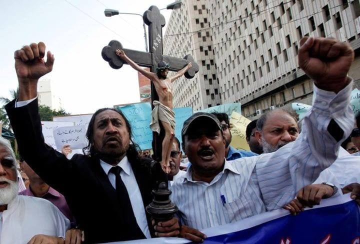 Christians are under siege