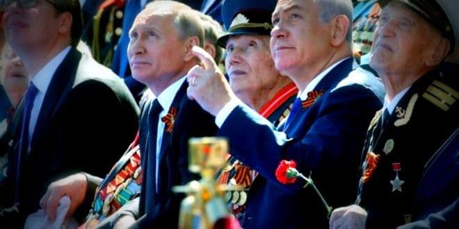 Massive Røde Plass parader i Moskva markerer seier over Hitler, Bjørn Ditlef Nistad, Putin, Netanyahu, Herland Report
