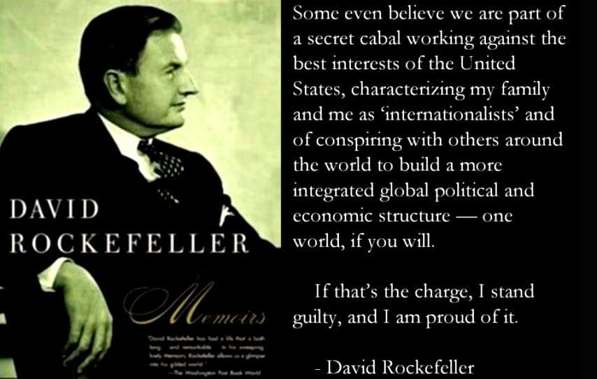 David Rockefeller quote, Herland Report