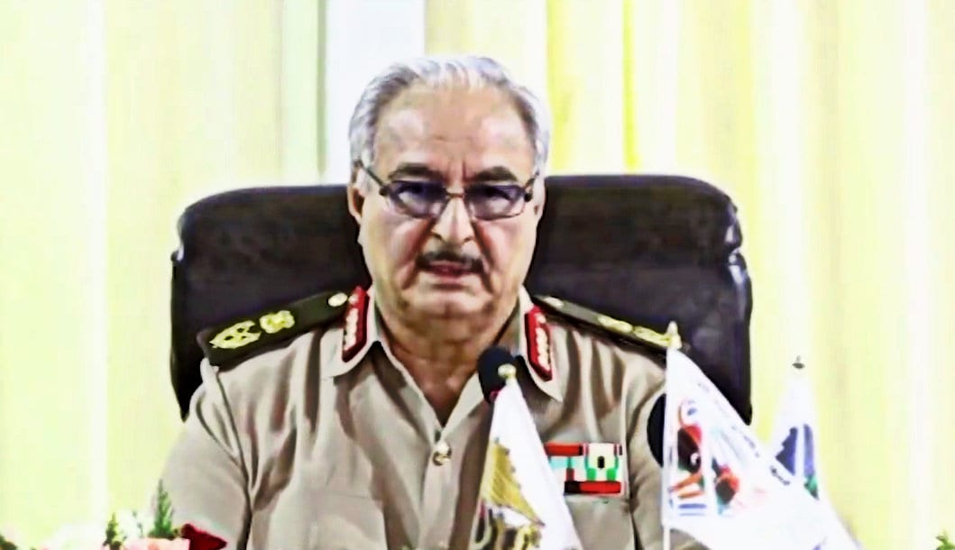 Libya, the National Army of General Khalifa Haftar New civil war Libya